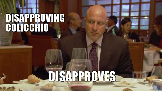 Disapproving Colicchio... Disapproves